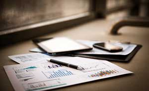 Information on charts for financial disclosure