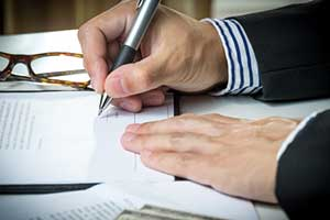 Man filing for chapter 11 bankruptcy