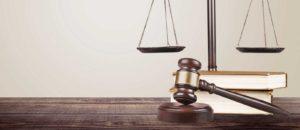 Gavel on a Litigation Attorney desk