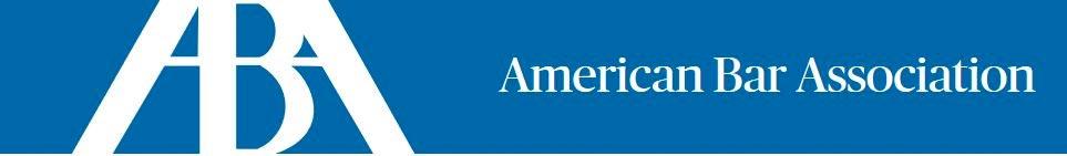 American Bar Association Banner