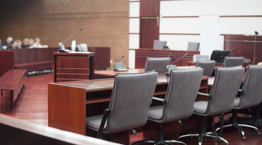 a court room where foreign judgments take place