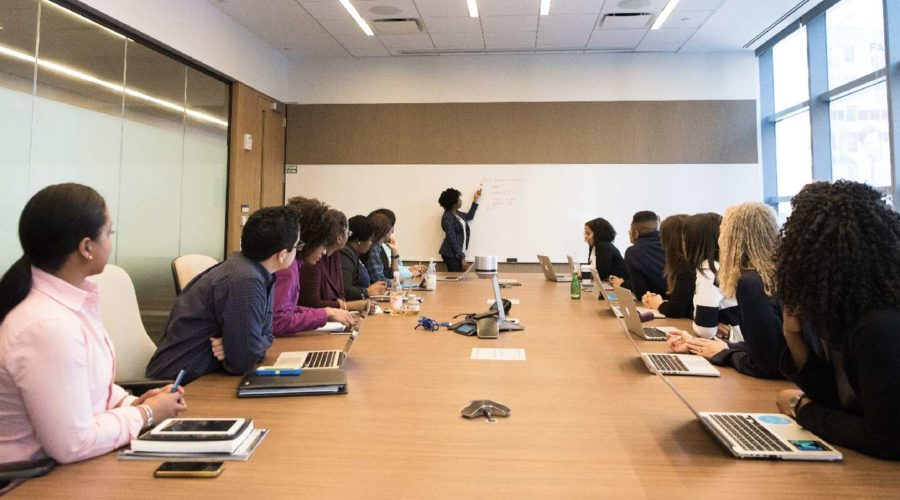 sexual harassment training in an office