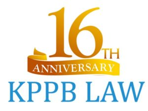KPPB Law 16 year banner