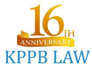 KPPB LAW 16 year banner