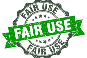 """Fair Use"" Exception under the Copyrights Act"