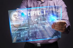 Copyrights are intellectual property rights