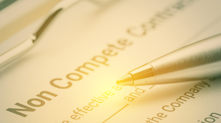 document that is a non compete agreement